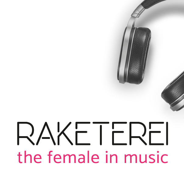 Logodesign für Raketerei – the female in music
