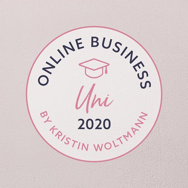 Corporate Design – Online Business Uni, Kristin Woltmann